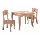 Princess and Frog Table and 2 Chair Set