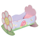 Magic Garden Dolls Rocking Bed