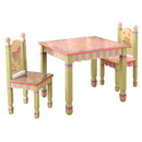 Magic Garden Table and 2 Chairs Set