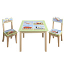 Transport Table and 2 Chair Set