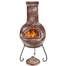 Gardeco Colima Clay Chimenea Large
