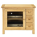 TCS Morgan Range 3 Drawer HiFi Unit