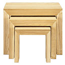 TCS Delphine Range Nest of 3 Tables