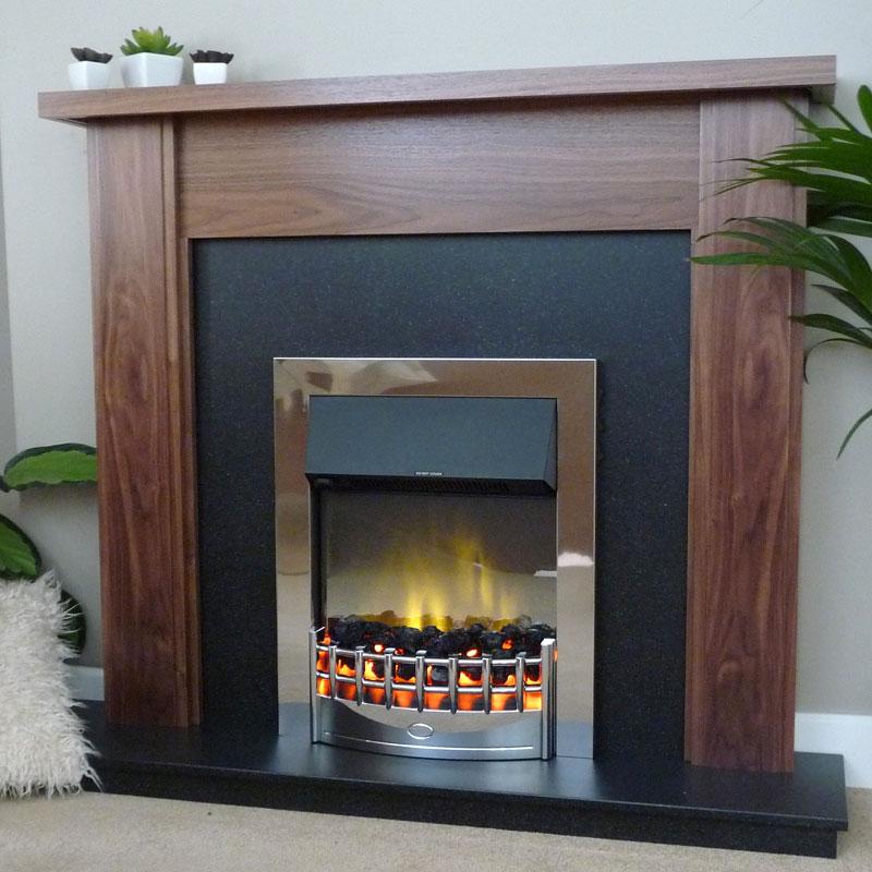 Delta Corwen Electric Fireplace Suite