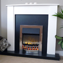 Delta Eaton Electric Fireplace Suite