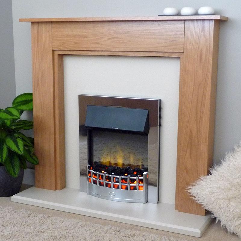 Delta Egerton Electric Fireplace Suite