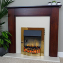 Delta Hartford Electric Fireplace Suite