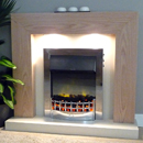 Delta Marton Electric Fireplace Suite