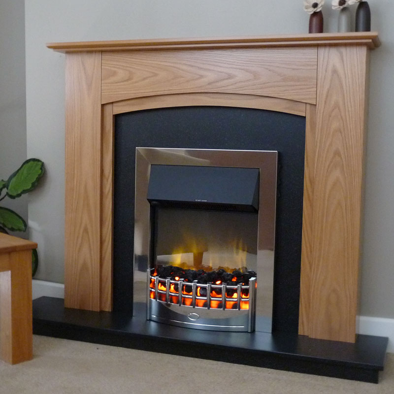 Delta Tabley Electric Fireplace Suite