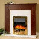 Delta Upton Electric Fireplace Suite