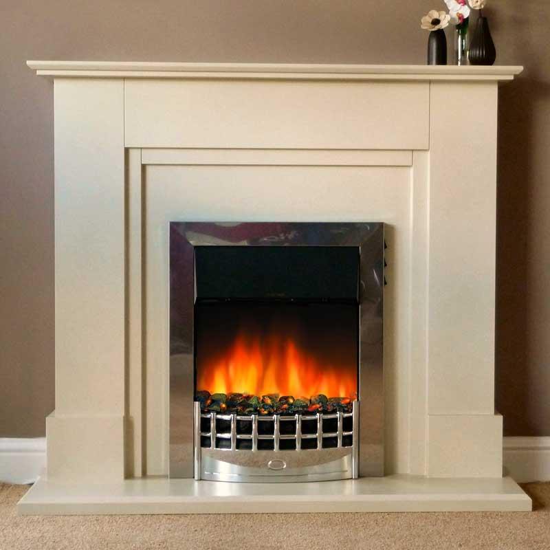 Delta Neston Electric Fireplace Suite