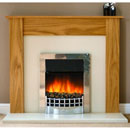 Delta Leicester Electric Fireplace Suite