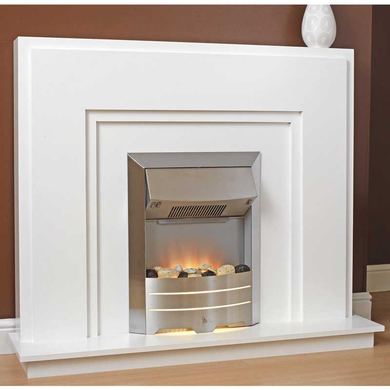Delta Shotton Electric Fireplace Suite