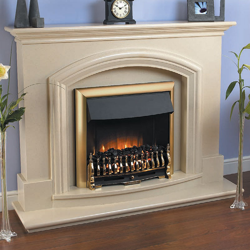 Beaucrest Danville Electric Fireplace Suite