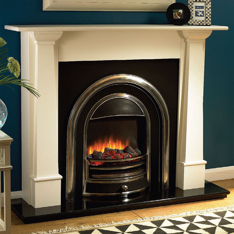 Beaucrest Marianna Electric Fireplace Suite