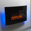 Orial Robina Curved Hang on the Wall Electric Fire