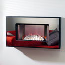 Orial Mesa Hang on the Wall Electric Fire