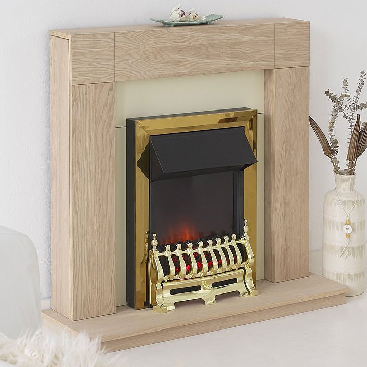 Costa Ennis Electric Fireplace Suite