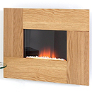 Costa Epic Oak Electric Fire