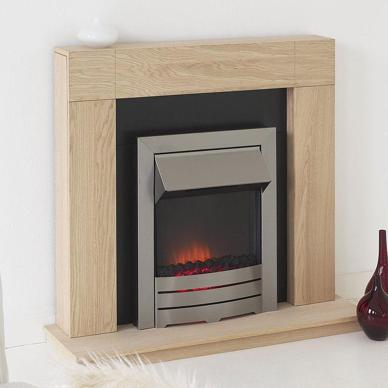 Costa Kinsale Electric Fireplace Suite