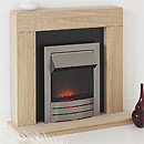 Costa Kinsale Electric Fireplace Suite