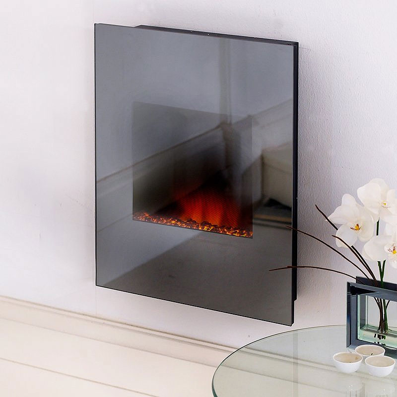Costa Shimmer Tinted Glass Electric Fire