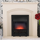 Costa Tempest Stone Electric Fireplace Suite