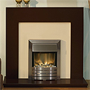 Costa Tulare Chocolate Electric Fireplace Suite