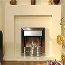 Tulare Ivory Back & Hearth