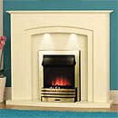 Costa Accord Electric Fireplace Suite