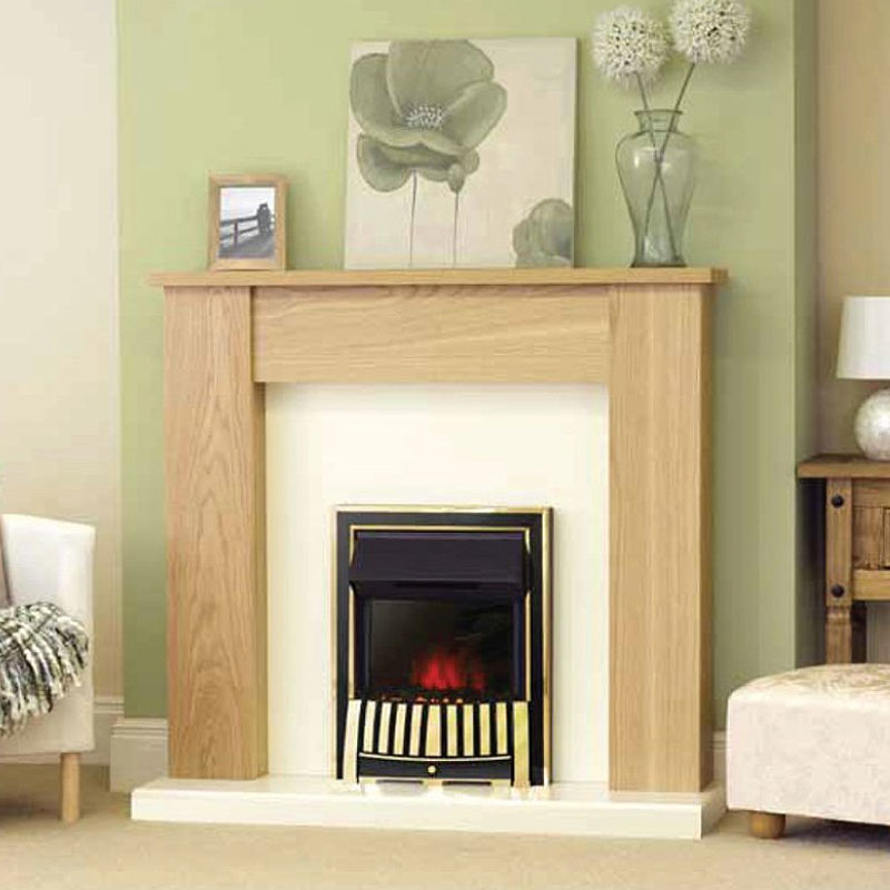 Costa Alliance Electric Fireplace Suite