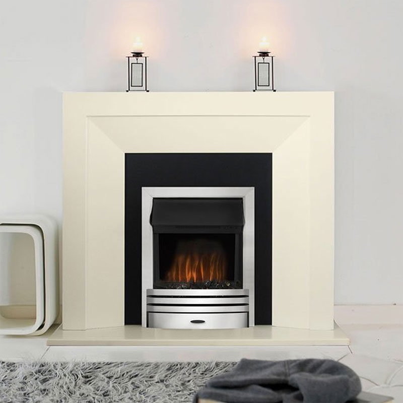 Costa League Electric Fireplace Suite