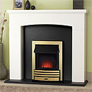 Costa Society Electric Fireplace Suite
