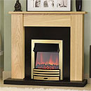 Costa Union Electric Fireplace Suite